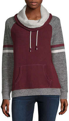 INSPIRED HEARTS Funnel Neck Sweatshirt - Juniors