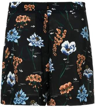 Markus Lupfer floral shorts