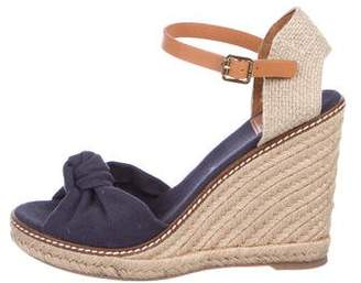 Tory Burch Knotted Espadrille Sandals