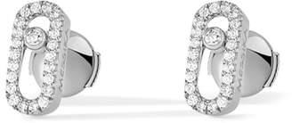 Möve MESSIKA Uno Pave Diamond Stud Earrings