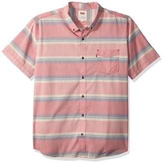 Levi's Men's Palette Short Sleeve Woven Shirt