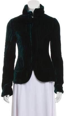 Gucci Quilted Velvet Jacket