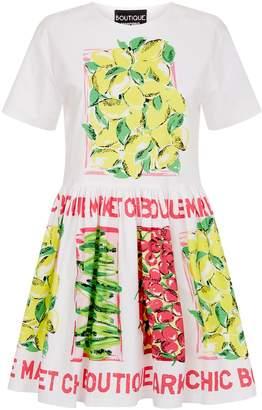Moschino Graphic Print Mini Dress