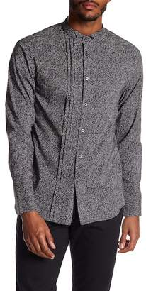 John Varvatos Collection Wing Collar Slim Fit Shirt