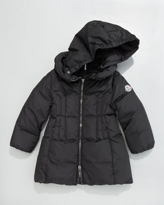 Moncler Nim Quilted Parka, Sizes 8-10