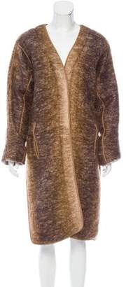 Reed Krakoff Mohair Ombré Coat w/ Tags