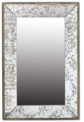 A&B Home Antique Finish Wall Mirror