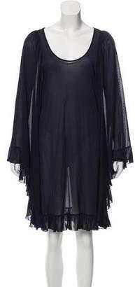 Stella McCartney Mesh Knee-Length Dress