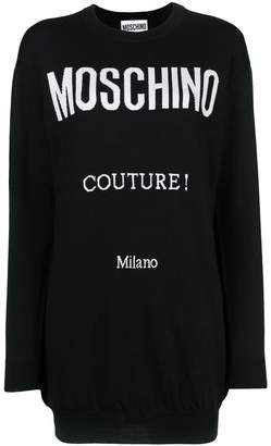 Moschino Logo printed long sleeved T-shirt