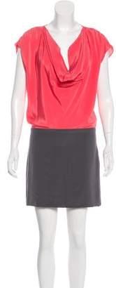 Black Halo Silk Mini Dress w/ Tags