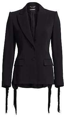 Alberta Ferretti Women's Fringe Jacket