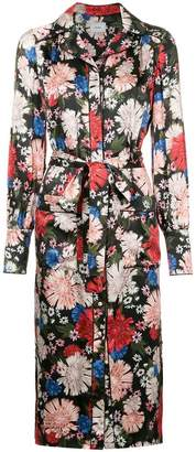 Erdem floral shirt dress