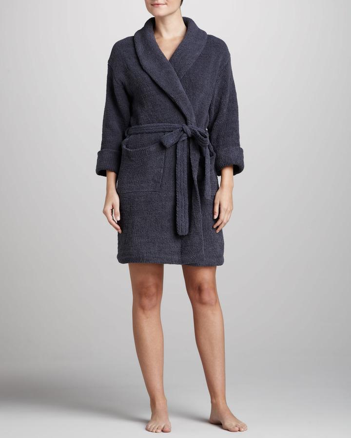 Josie Marshmallow Chenille Wrap Robe