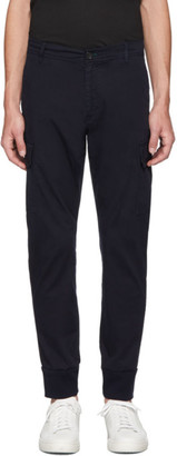 Paul Smith Navy Military Jogger Cargo Trousers