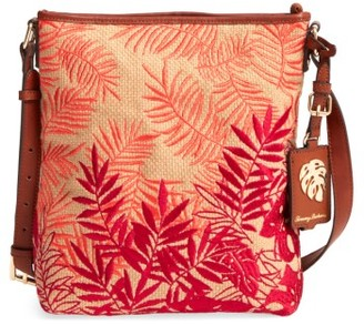 Tommy Bahama Palm Beach Crossbody Bag - Orange $98 thestylecure.com