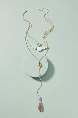 Anthropologie Mira Layered Pendant Necklace