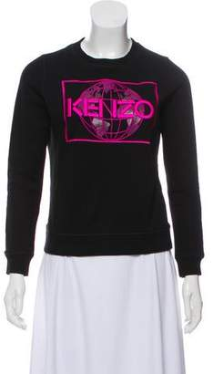 Kenzo Embroidered Long Sleeve Sweatshirt