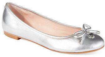 Kate SpadeKate Spade New York Willa Metallic Leather Ballet Flats