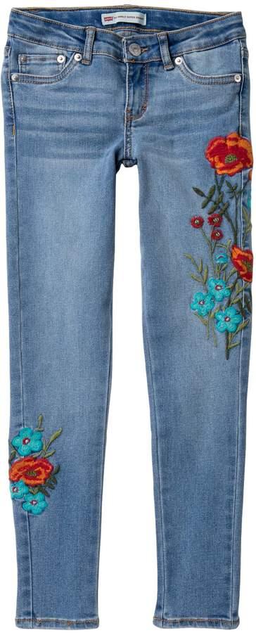 Levi's 710 Ankle Super Skinny Jeans (Big Girls)