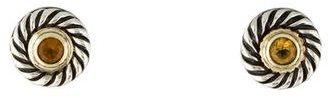 David Yurman Citrine Cookie Earrings $225 thestylecure.com