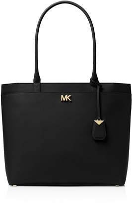 MICHAEL Michael Kors Michael Kors Maddie Large Leather Pocket Tote