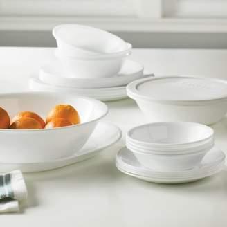 Corelle Livingware 74 Piece Dinnerware Set, Service for 12