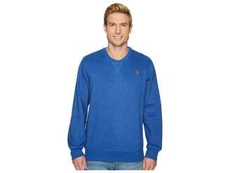 U.S. Polo Assn. Fleece Crew Neck Sweatshirt Men's Sweatshirt