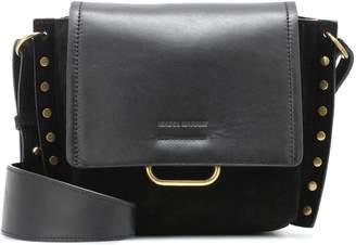 Isabel Marant Kleny suede and leather shoulder bag