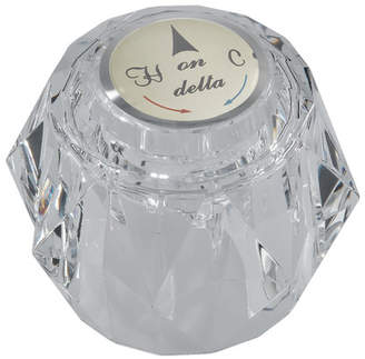 Delta Duralac Knob Handle with Button and Set Screw