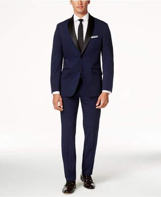 Perry Ellis Portfolio Slim-Fit Solid Navy Tuxedo $425 thestylecure.com