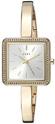 DKNY Women's Stonewall Analog-Quartz Watch with Stainless-Steel Strap