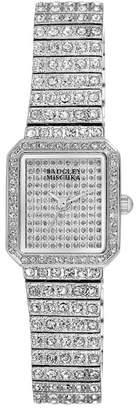 Badgley Mischka Women's Swarovski Crystal Accented Bracelet Watch, 20mm