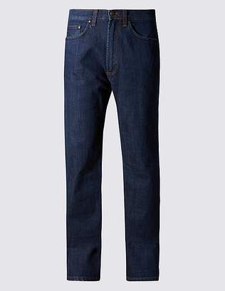 "Marks and Spencer Big & Tall Regular Stretch StayNewâ""¢ Jeans"