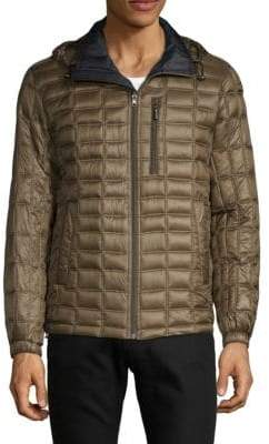 Rainforest Reversible Quilted Down Alternative Jacket