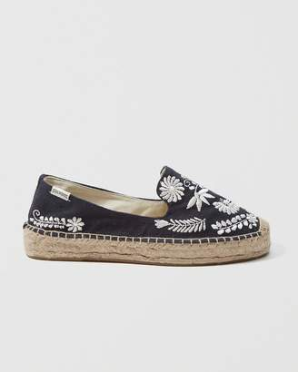 Abercrombie & Fitch Soludos Embroidered Slipper