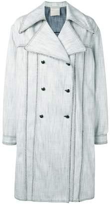 Marco De Vincenzo embellished midi coat