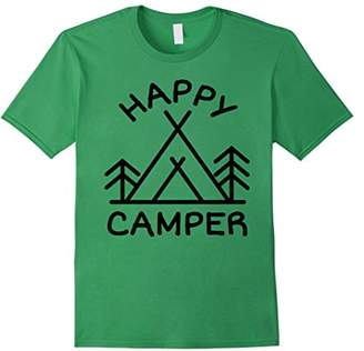 Camper Happy Camping Hiking Outdoors T-Shirt