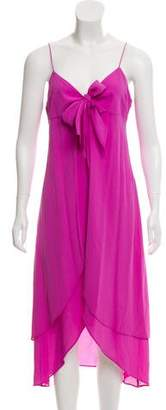 Michael Kors Sleeveless Silk Dress