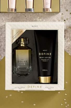 Next Define Eau De Parfum 100ml Gift Set - Gold