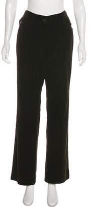 Dolce & Gabbana Logo-Embellished Mid-Rise Pants gold Logo-Embellished Mid-Rise Pants
