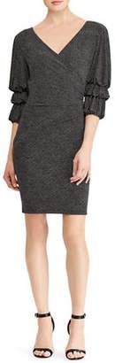Lauren Ralph Lauren Dot-Print Jersey Dress