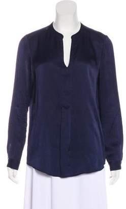 Hartford Long Sleeve Silk Blouse