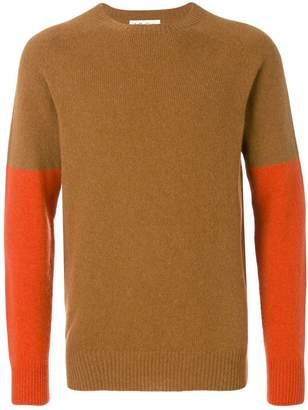 YMC colour block jumper