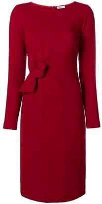 P.A.R.O.S.H. long-sleeve bow midi dress