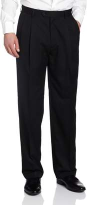Haggar Men's Solid Pleat Front Suit Separate Pant