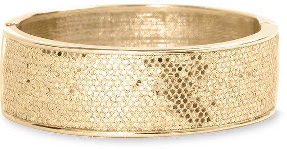 Betsey Johnson Sequined Bangle Bracelet