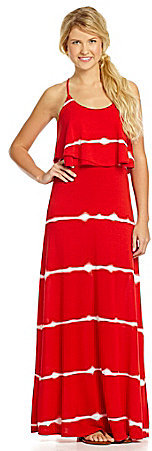 Takara Popover Top & Tie-Dye Maxi Dress