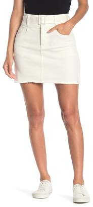 Line & Dot Victory Belted Mini Skirt