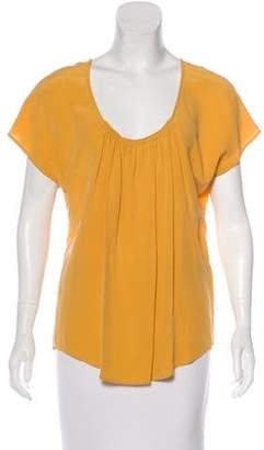 dc799e02e2e22a Joie Silk Short Sleeve Top