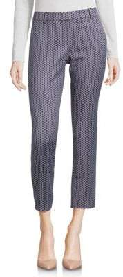 Peserico Printed Cropped Trousers